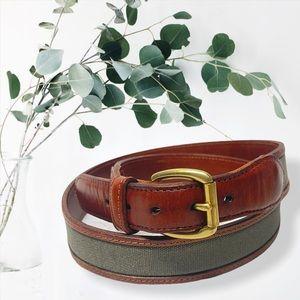 """Coach Loden 3889 leather belt 38"""" 95 CM"""